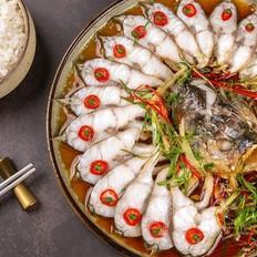 椒香開屏黃花魚