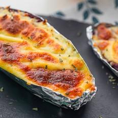 马苏里拉芝士焗紫薯