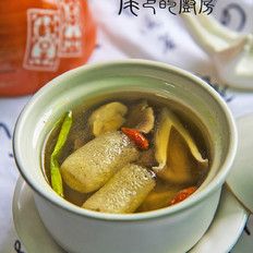 什菇鲜鸡汤