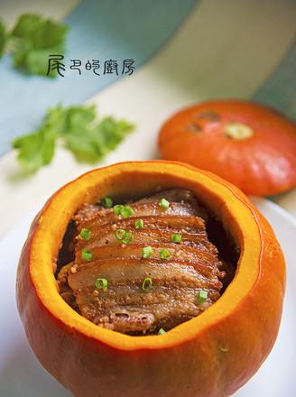 金瓜粉蒸肉的做法