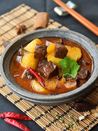 土豆燒牛肉的做法
