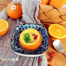 国橙蒸枸杞蛋