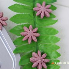 奶香花朵饼干