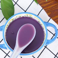 养生紫薯银耳羹