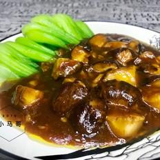 香菇小青菜#下饭菜