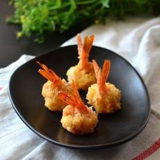 蒜香烤虾球