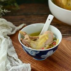 砂锅扁尖鸡汤