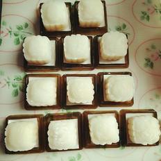 芝士芒果冰皮月饼的做法