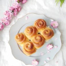 脆底蜂蜜面包卷