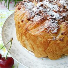 山核桃炼乳面包
