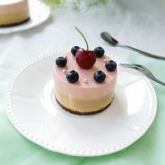 樱桃芒果慕斯蛋糕