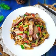 霸王超市 湖南特色萝卜干炒腊肉