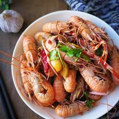 麻辣海龙虾