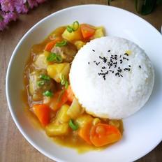 咖喱肉丸土豆烩饭