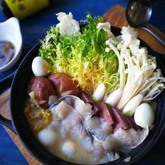 酸菜鲈鱼锅