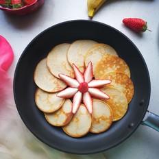香蕉松饼的做法