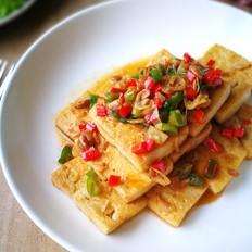 酱香虾皮豆腐