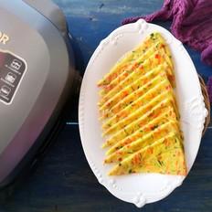 【红红火火】时蔬鸡蛋饼