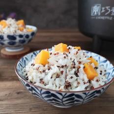 藜麦红薯低糖饭