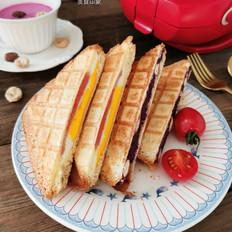 双色三明治