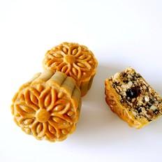 广式五仁月饼蜂蜜版(不用转化糖浆)