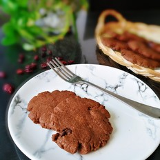 蔓越莓巧克力酥饼