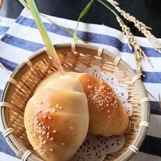 豆沙米面包卷