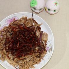 东北菜之辣肉丝
