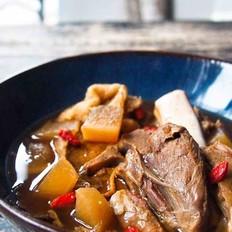 虫草花羊肉汤(冬日滋补)