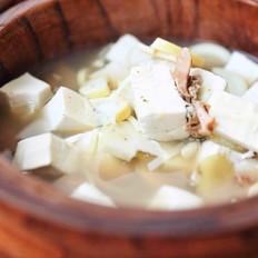 河蚌春笋豆腐汤