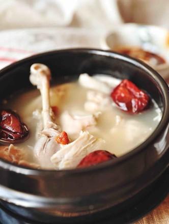 猪肚鸡(汤,火锅底)的做法