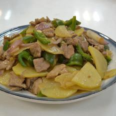 土豆炒猪肉