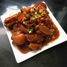 黄豆炖猪蹄/高压锅版