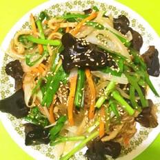 懒人版韩式杂菜