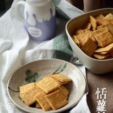 椰奶奶盐苏打饼