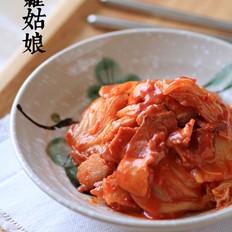 辣白菜炒培根