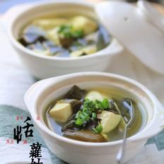 裙带菜炖豆腐