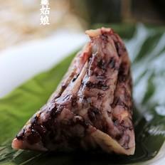 紫米莲子粽