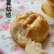 香肠香葱调理面包