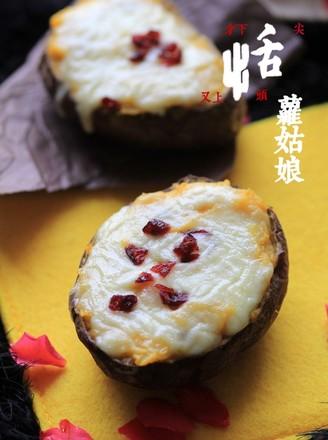 芝士焗番薯的做法
