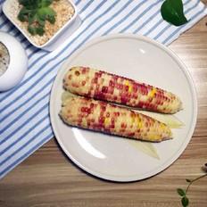 蒸甜糯玉米