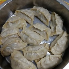香菇西葫芦猪肉蒸饺