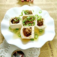蒸的肉豆腐