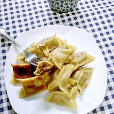 工字白菜肉煎饺