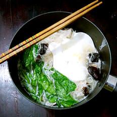 夜宵米线鸡蛋包