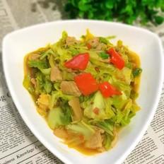 卷心菜炖回锅肉