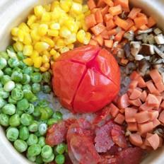 网红番茄焖锅饭