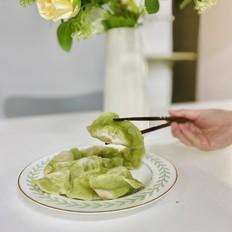 冬至必吃的翡翠白玉饺子