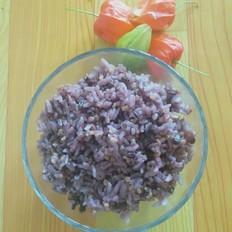 大米,黑米,小碴米饭