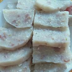 自制猪肉淀粉焖子